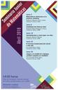 Abril: Sesiones para el Seminario Junior de Matemáticas