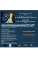 """Congreso Internacional """"El despertar de la vocación científica en las niñas"""""""