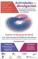 Cuarta Reunión de Matemáticos Mexicanos en el Mundo