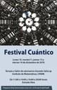 "Del 10 al 11 y del 13 al 14 de diciembre de 2018 de 11:00 a 14:00 y 16:00 a 20:00 horas <br> Terraza y Salón de seminarios ""Graciela Salicrup"", IMUNAM - C.U. <br> Entrada libre <br/> <a href=""http://www.matem.unam.mx/~micho/qarts/q2018.pdf""> http://www.matem.unam.mx/~micho/qarts/q2018.pdf </a>"