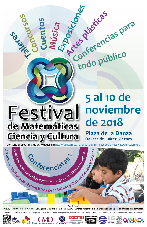 Festival de Matemáticas, Ciencia y Cultura del Instituto de Matemáticas - UNAM