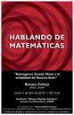 Hablando de Matemáticas: Renato Calleja, IIMAS, UNAM