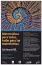 Matemáticas para todas, todas para las matemáticas