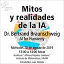 Conferencia Mitos y realidades de la IA