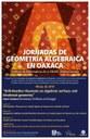 Jornadas de Geometría Algebraica en Oaxaca en marzo de 2019