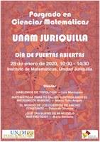 Día de Puertas Abiertas del Instituto de Matemáticas campus Juriquilla