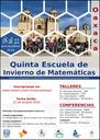 """Del 18 al 22 de noviembre de 2018 <br> Límite de solicitudes: 22 de octubre <br> IMUNAM - Oaxaca  <br/> <a href=""""http://www.matem.unam.mx/escuelaoax/ """"> http://www.matem.unam.mx/escuelaoax/  </a>"""