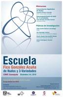 """Escuela """"Fico González Acuña"""" de Nudos y 3-variedades (EN3V 2018)"""