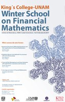 King's College-UNAM Winter school on financial mathematics
