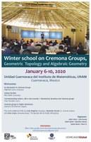 Escuela de invierno en Grupos de Cremona, Topología Geométrica y Geometría Algebraica