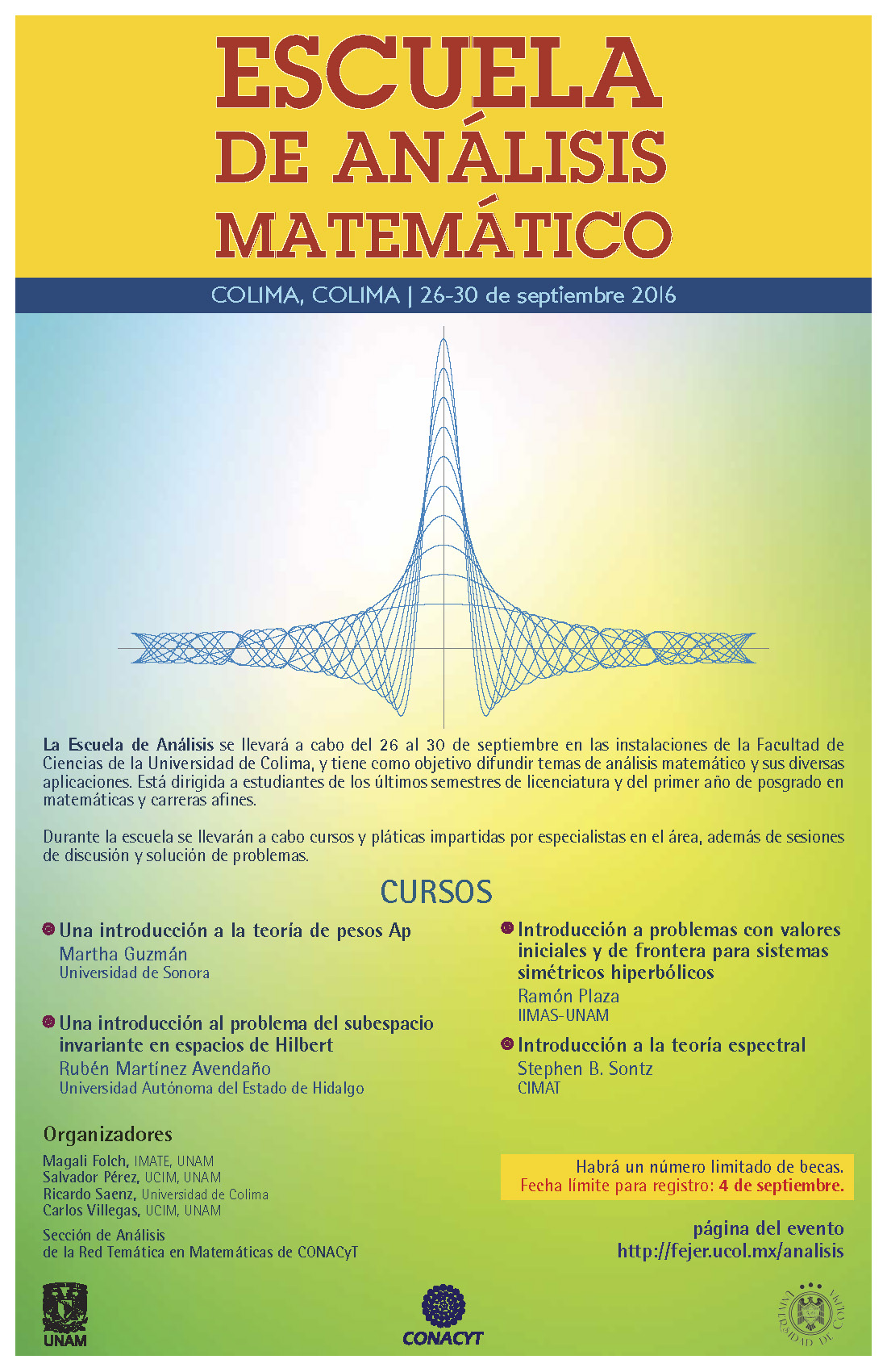 Escuela de Análisis Matemático