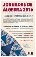 Jornadas de álgebra 2016