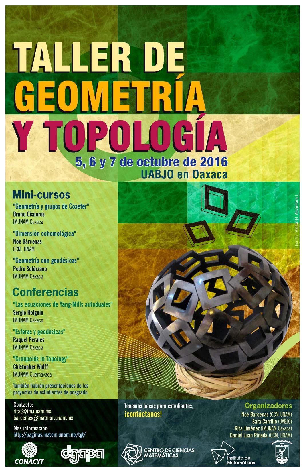 Taller de Geometría y Topología, Oaxaca