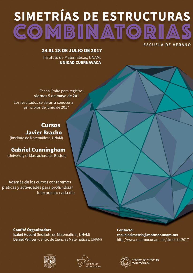 2da Escuela de Verano en Simetrías de Estructuras Combinatorias