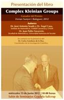 """Presentación del libro """"Complex Kleinian Groups"""""""