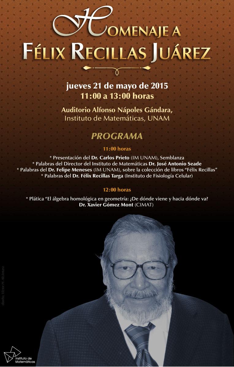 Homenaje a Félix Recillas Juárez