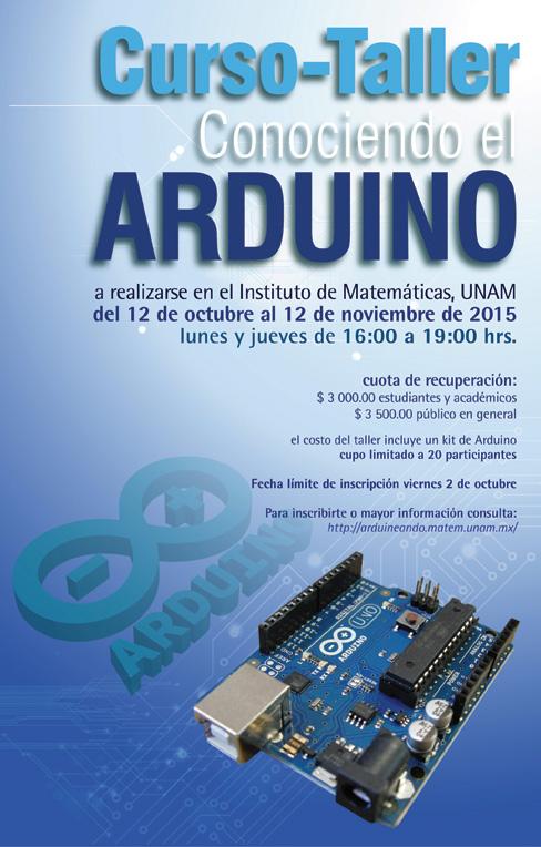 Curso-Taller Conociendo el Arduino (II)