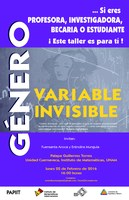 Taller Género: Variable Invisible