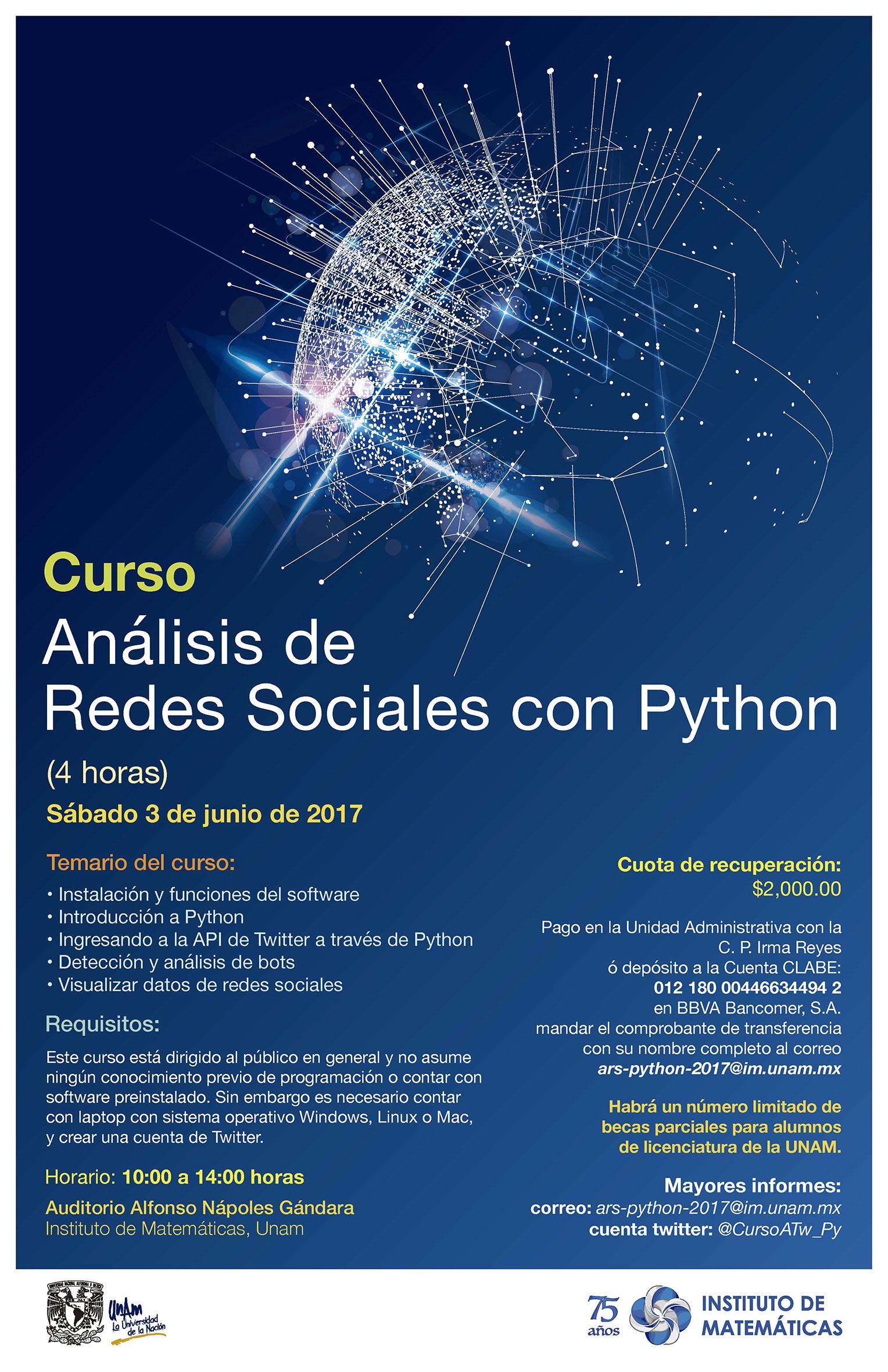 Curso: Análisis de Redes Sociales con Python