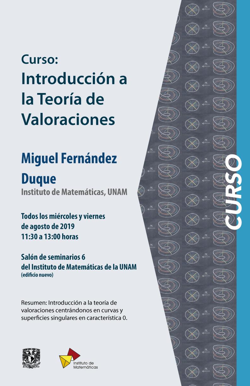 Curso: Introducción a la teoría de valoraciones