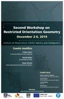 Segundo Taller sobre Geometría con Orientaciones Restringidas