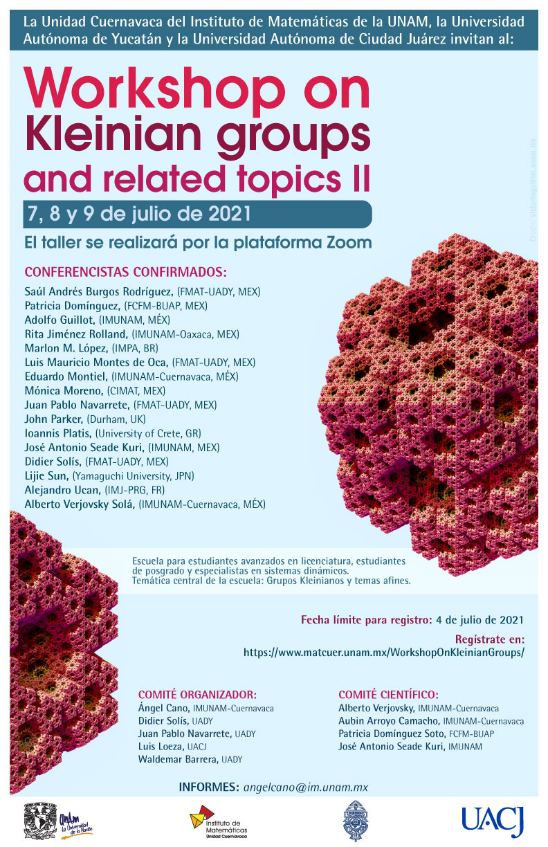 Workshop on Kleinian groups and related topics II