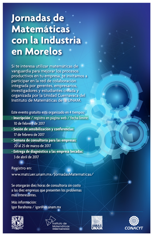 Jornadas de Matemáticas con la Industria en Morelos
